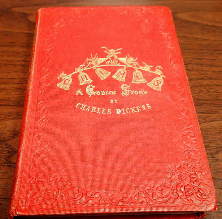 Charles Dickens First Printing Lot - A CHRISTMAS CAROL, 1843 - THE CHIMES, 1845 :: RBC