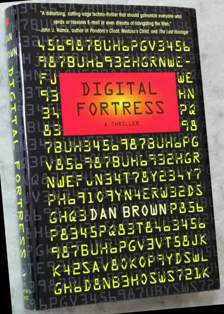 Signed Dan Brown - DIGITAL FORTRESS - First Edition, 1998